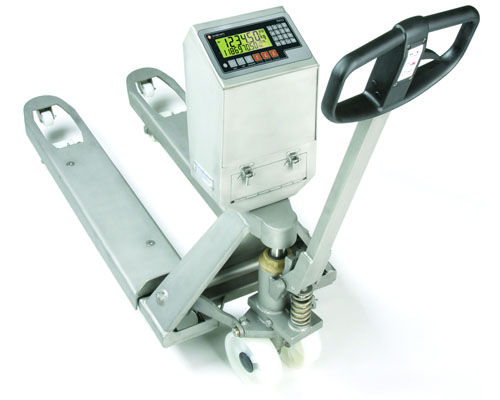 Elite Pallet Truck Scale Stainless Steel