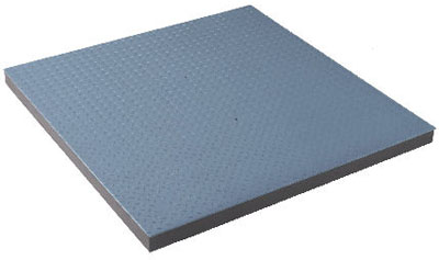 Platform scale in mild steel